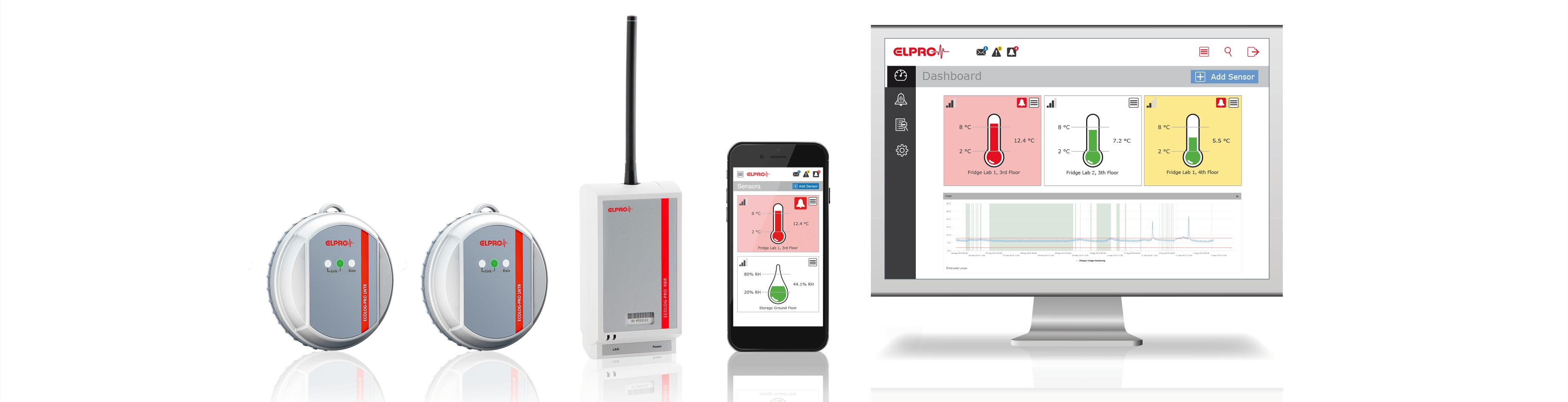 ELPRO Cloud Temperature Monitoring Starter-Kit